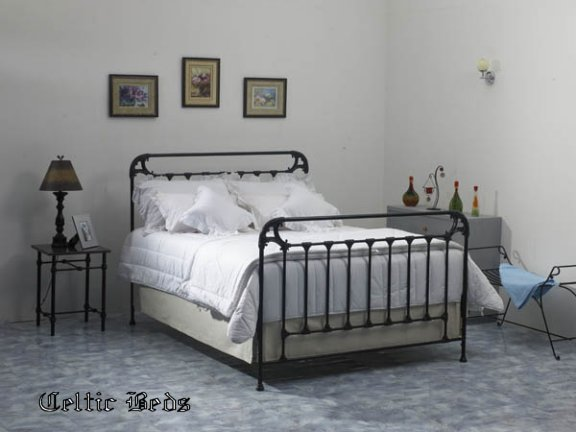 beds of iron wrought iron beds from celtic beds the main. Black Bedroom Furniture Sets. Home Design Ideas